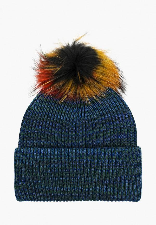 шапка artel для девочки, синяя