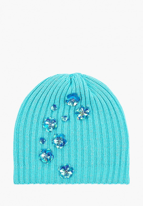 шапка artel для девочки, бирюзовая