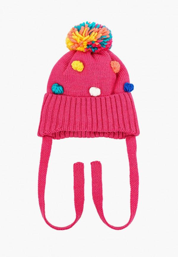 шапка artel для девочки, розовая