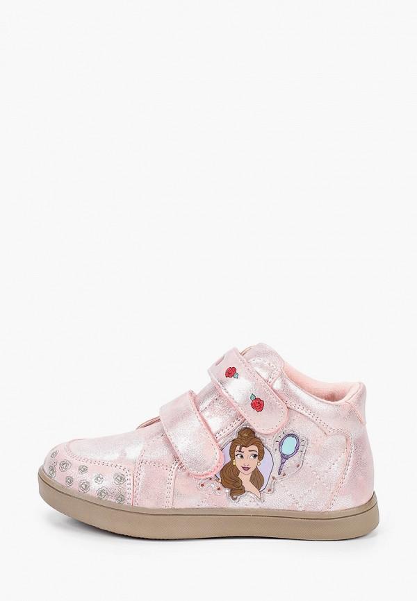 Кеды для девочки Disney цвет розовый