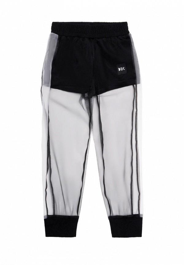 спортивные брюки dnk для девочки, черные