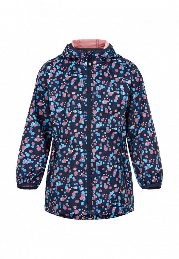 куртка color kids для девочки, синяя