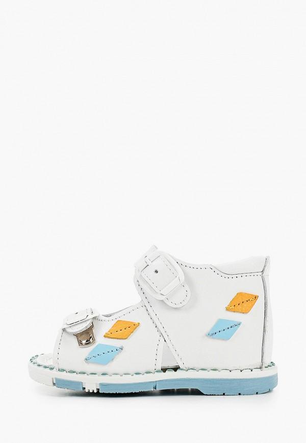 сандалии таши орто для девочки, белые
