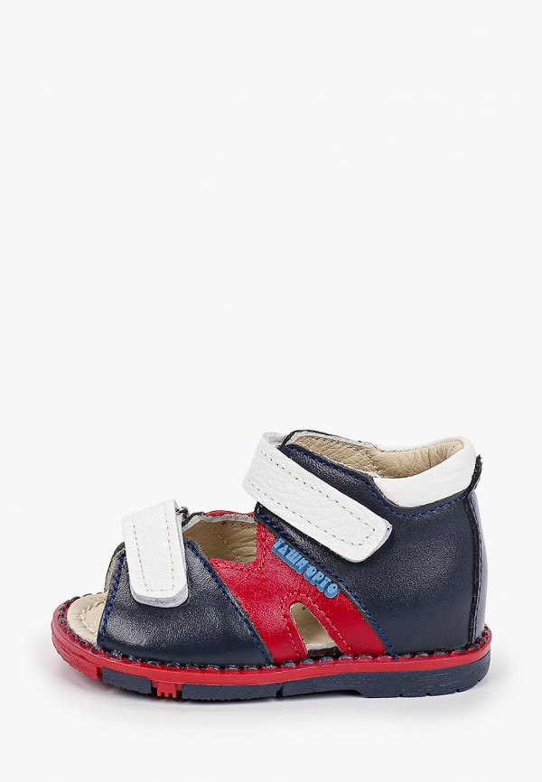 сандалии таши орто для девочки, разноцветные