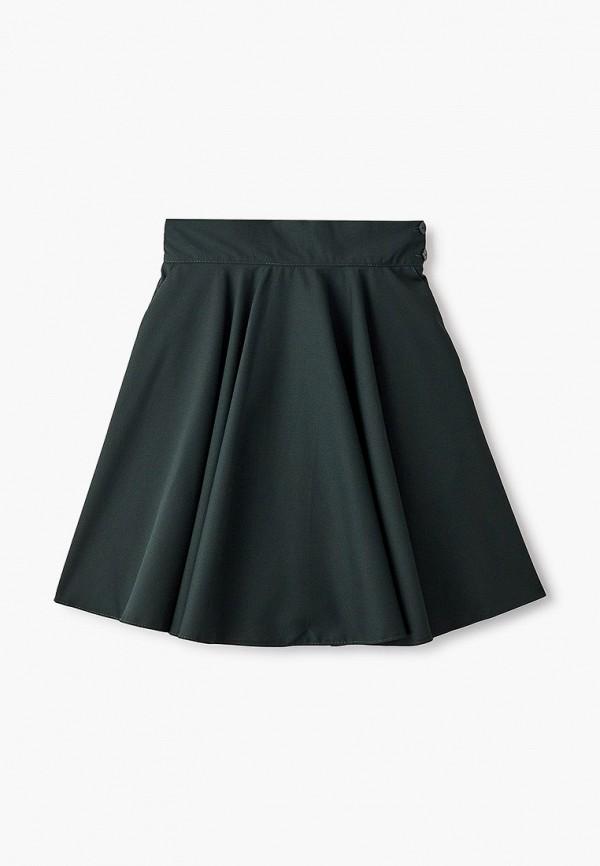 юбка smena для девочки, зеленая