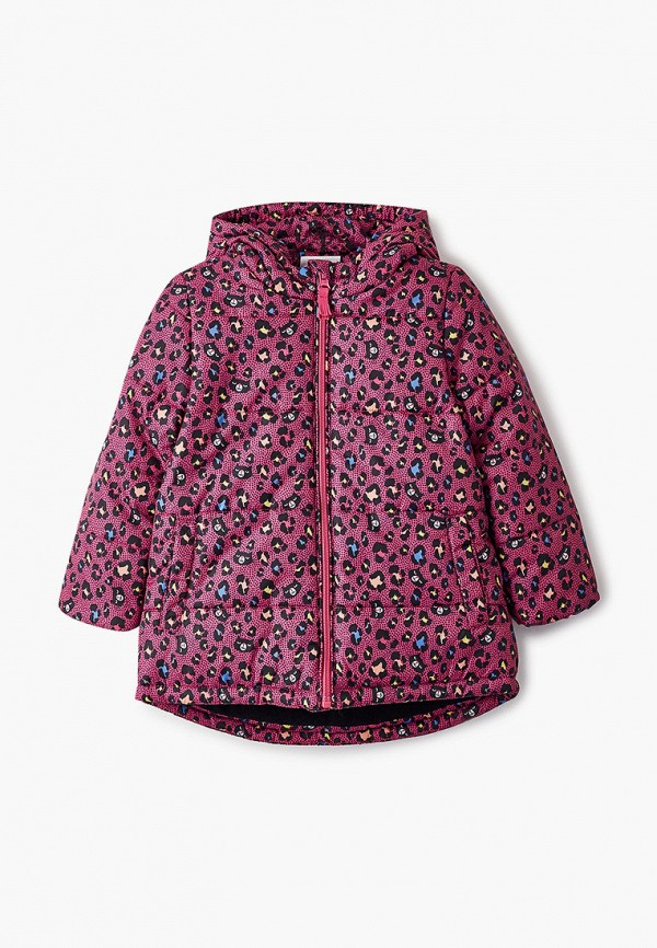 Куртка утепленная Coccodrillo розового цвета