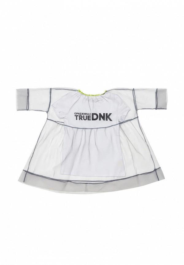 платье dnk для девочки, белое