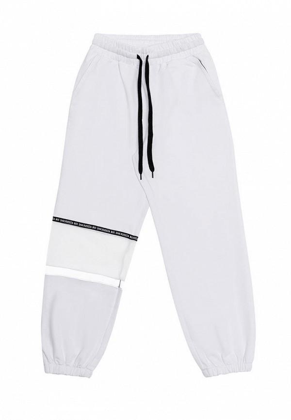 спортивные брюки dnk для девочки, белые