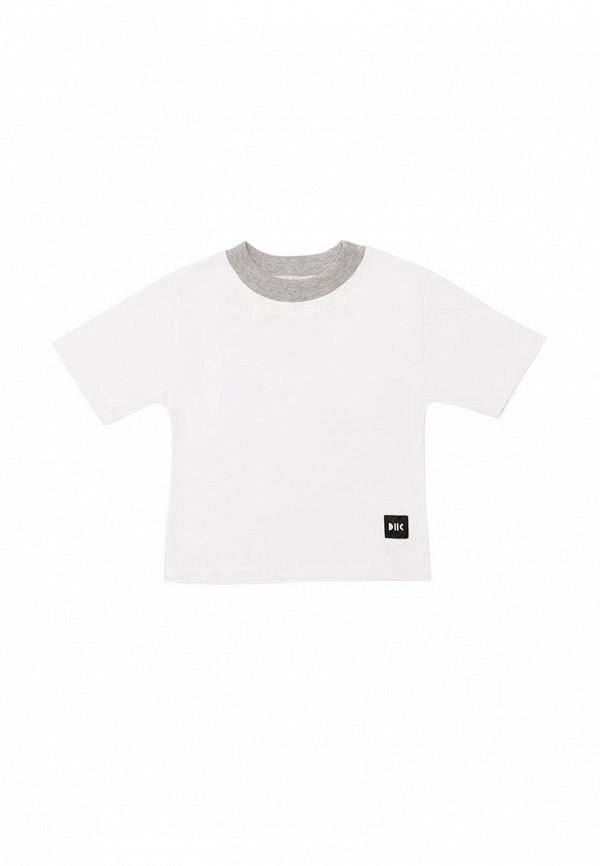 футболка с коротким рукавом dnk для девочки, белая