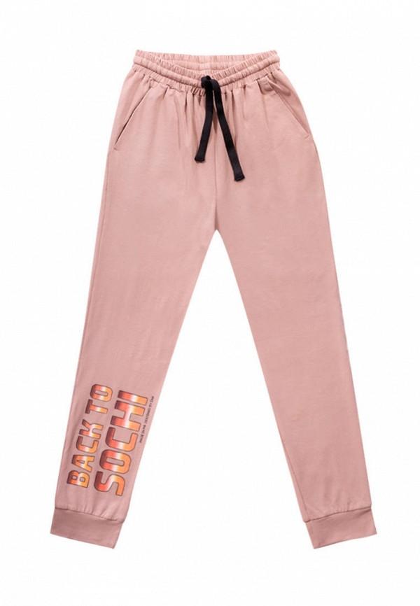 спортивные брюки dnk для девочки, розовые