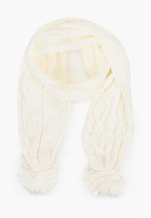 шарф acoola для девочки, белый