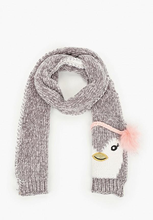 шарф acoola для девочки, серый