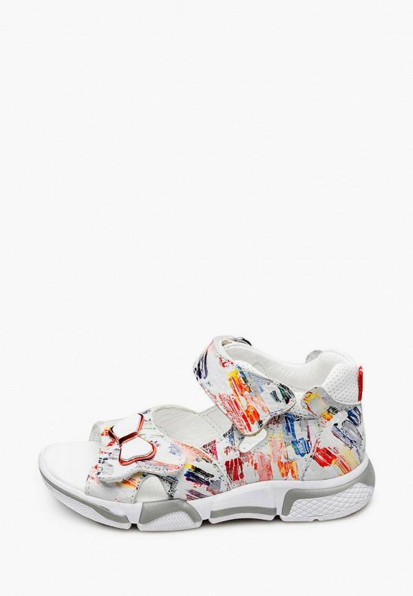 сандалии tutubi для девочки, разноцветные