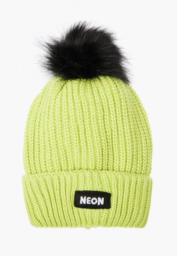 шапка playtoday для девочки, зеленая
