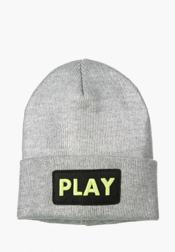 шапка playtoday для девочки, серая