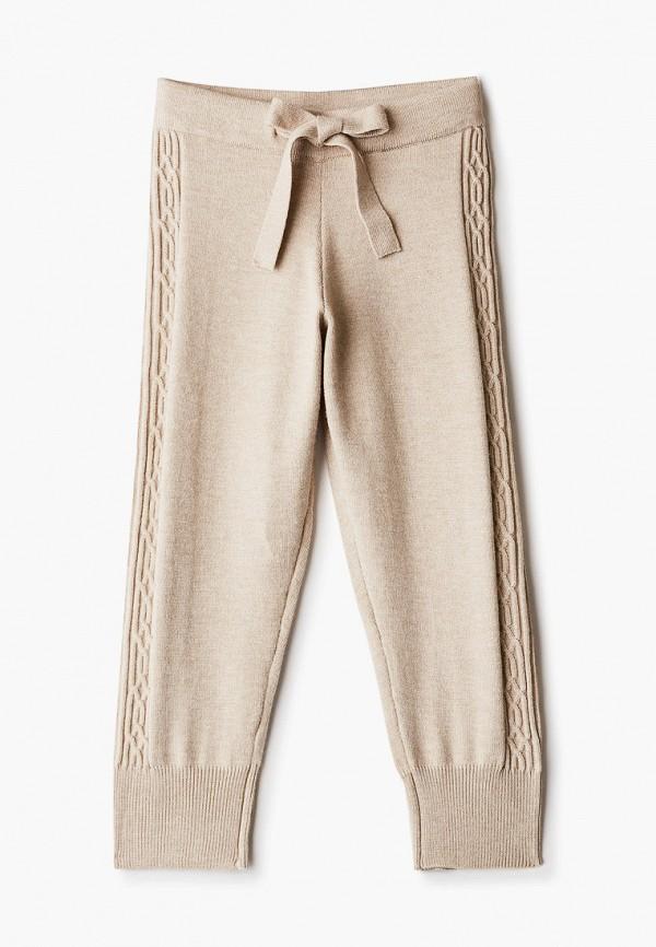брюки acoola для девочки, бежевые