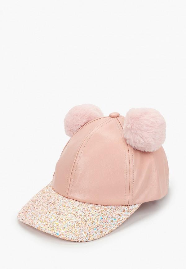 бейсболка acoola для девочки, розовая