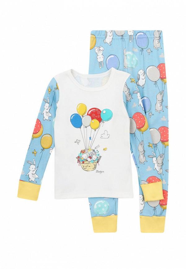 пижама вітуся для девочки, голубая