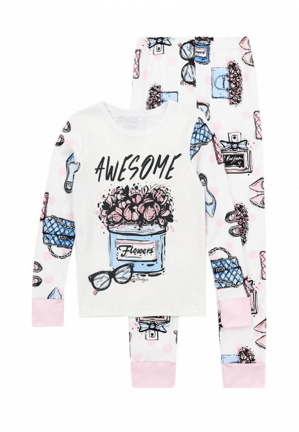 пижама вітуся для девочки, белая