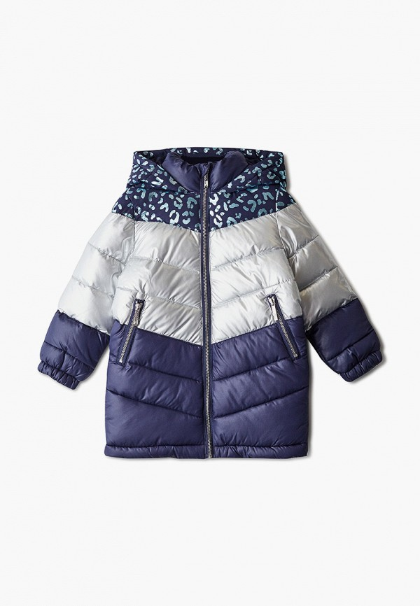 утепленные куртка acoola для девочки, синяя