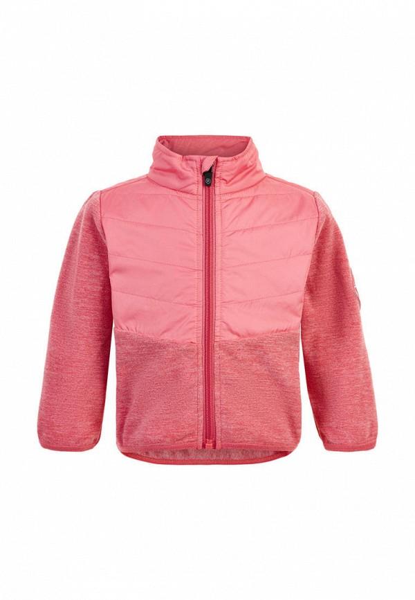 ветровка color kids для девочки, розовая