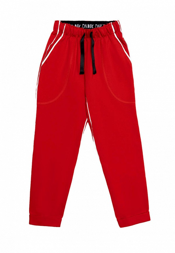 спортивные брюки dnk для девочки, красные