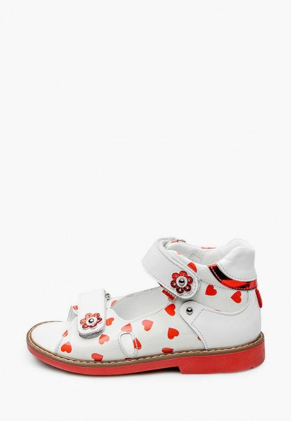 сандалии tutubi для девочки, белые