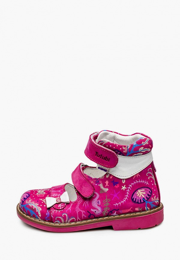 сандалии tutubi для девочки, розовые
