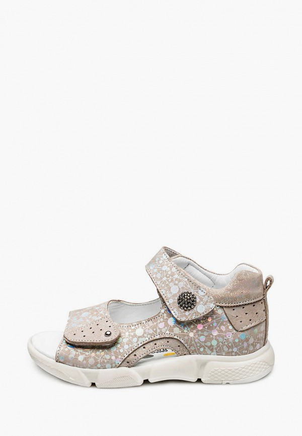 сандалии tutubi для девочки, бежевые