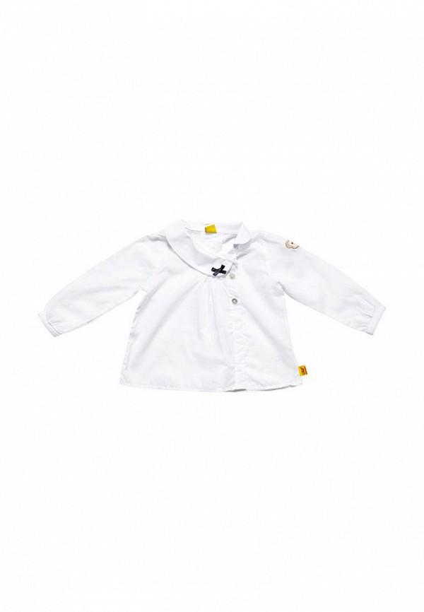 блузка steiff для девочки, белая