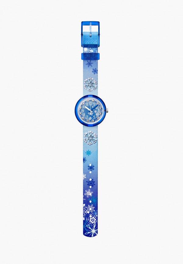 часы flik flak для девочки, синие