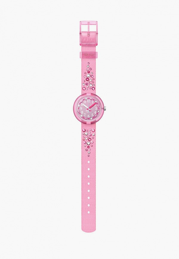 часы flik flak для девочки, розовые