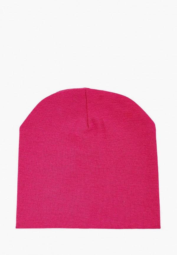 шапка mom&me для девочки, розовая