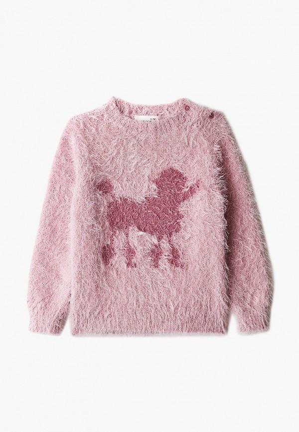джемпер coccodrillo для девочки, розовый