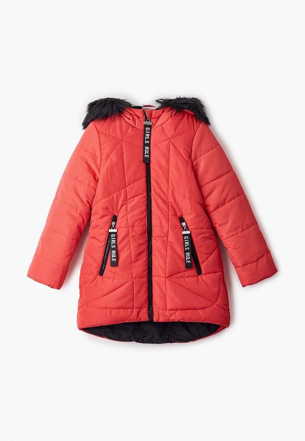 Куртка утепленная Coccodrillo красного цвета