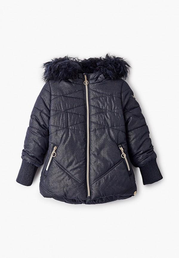 Куртка утепленная Coccodrillo синего цвета