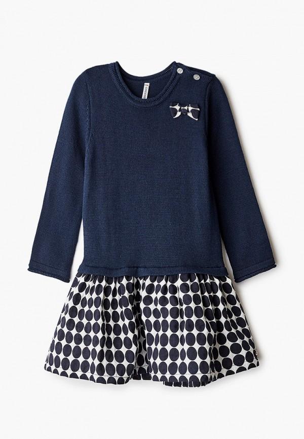 повседневные платье coccodrillo для девочки, синее