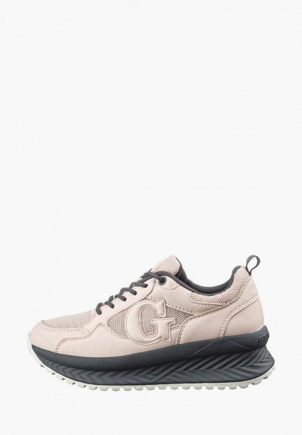кроссовки grunberg для девочки, бежевые