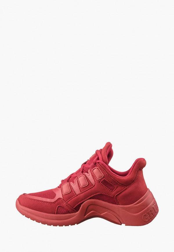 кроссовки grunberg для девочки, красные