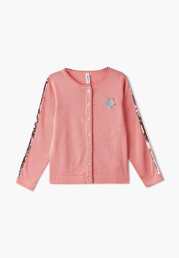 кардиган acoola для девочки, розовый