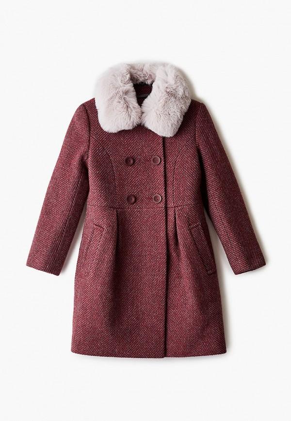 Пальто Mamma Mila! Mamma Mila!  бордовый фото