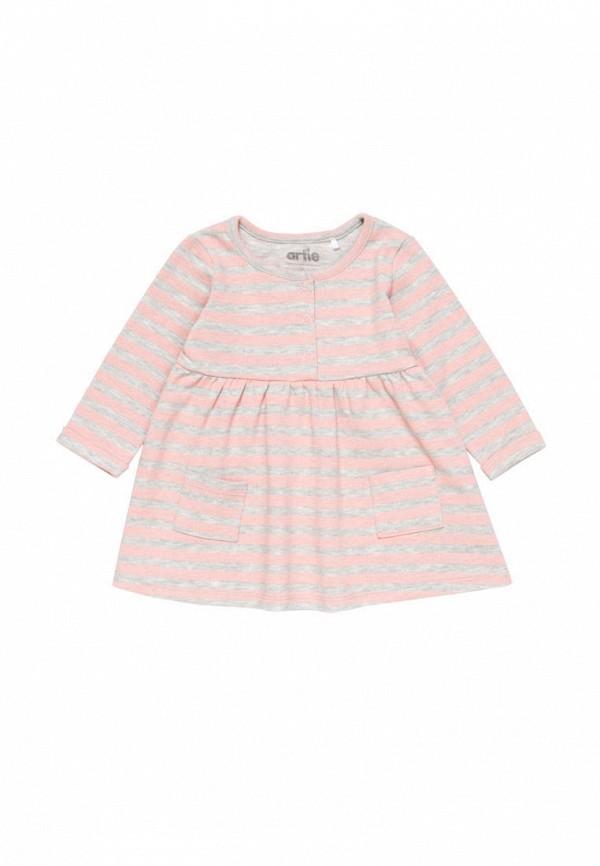 повседневные платье artie для девочки, разноцветное
