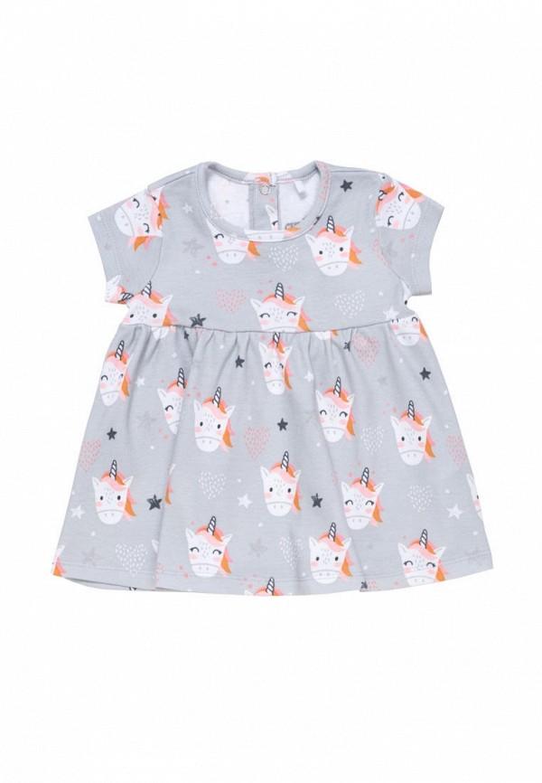повседневные платье artie для девочки, серое