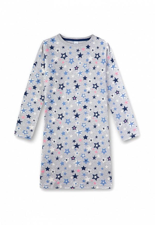 платье sanetta для девочки, серое