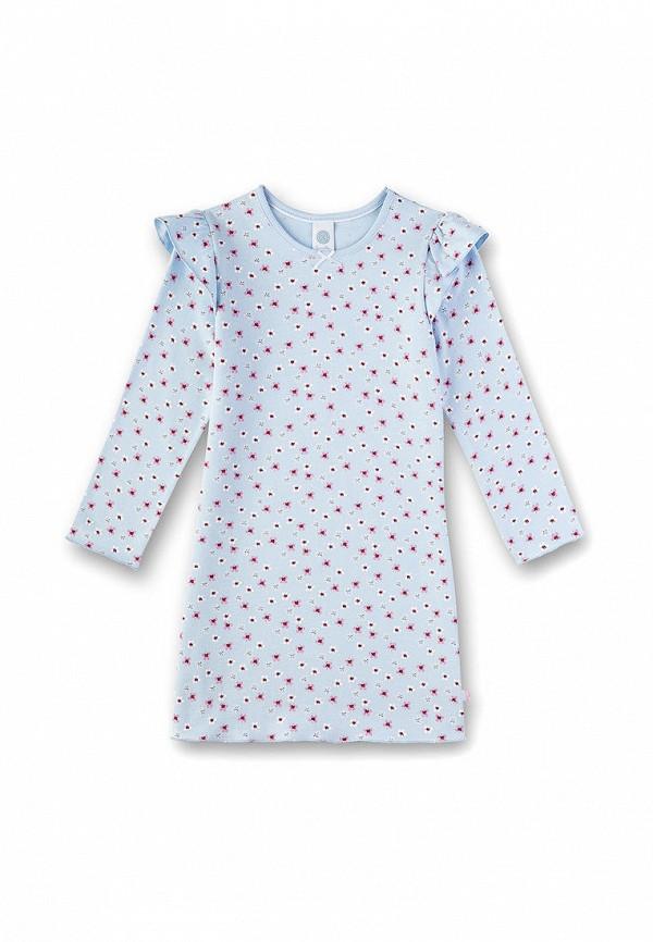 платье sanetta для девочки, синее