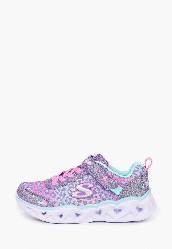 Кроссовки Skechers — со светодиодами