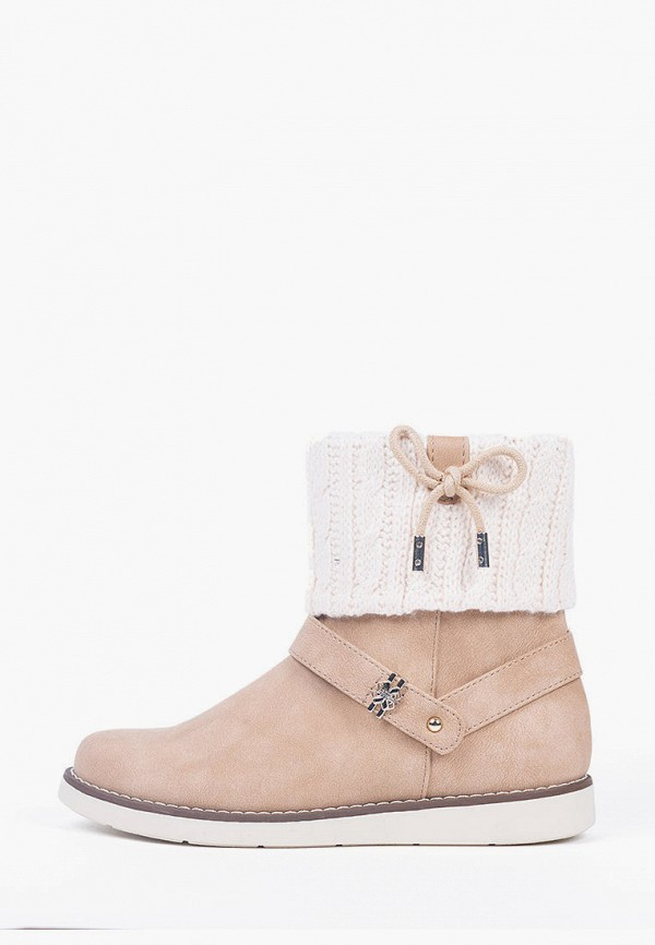 ботинки mayoral для девочки, бежевые