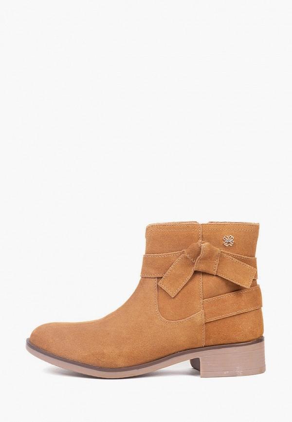 ботинки mayoral для девочки, коричневые