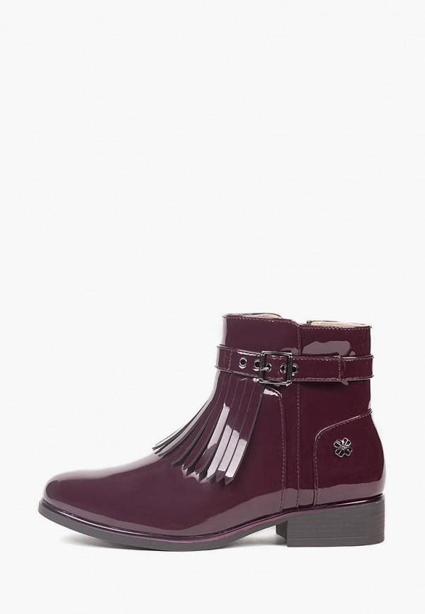 ботинки mayoral для девочки, бордовые