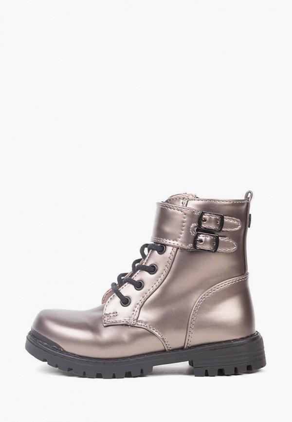 ботинки mayoral для девочки, серебряные